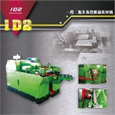 台湾长鸿:FA-30152一模二冲冷镦螺丝打头机(最大切断外径10mm,最大切断长度152mm)