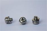 厂家直销盘头十字盘头凹脑十字六角组合螺丝组合螺钉种类齐全