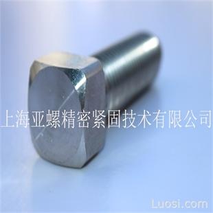 亚螺 不锈钢SUS304方头螺栓M10