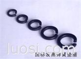 场桥永久标准件厂家 各种规格弹垫 发黑弹簧垫圈 镀锌弹垫