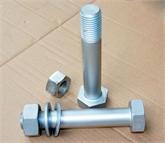 生产热浸锌外六角螺栓GB5782 GB5783 DIN931 DIN933
