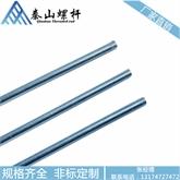 海盐厂家生产 3/8-16 1米 3米 英标蓝白锌丝杆 外贸代工 出口 OME