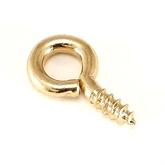 厂家供应黄铜紧固件羊眼螺丝自攻螺丝羊眼吊环螺丝
