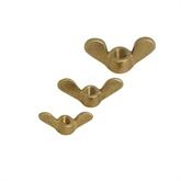 创河供应UNI5448 蝶形螺母 羊角螺母 黄铜元宝螺母