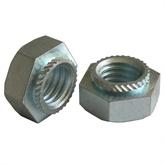 环保镀锌压铆螺母铆接螺母铆螺母S-M3-0/-1/-2压板螺帽钣金螺母
