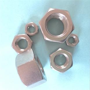 厂价直销不锈钢六角螺母 法兰螺母 锁紧螺母 盖型螺母 开槽螺母 细牙 反牙