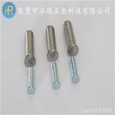 PEM 压铆螺钉 304不锈钢  圆头压铆螺丝 FH-M3  不锈钢压铆螺母 压铆件