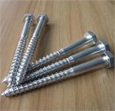 现货供应4·8级外六角木螺钉 外六角自攻螺丝 六角木螺丝规格齐全
