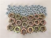 六角螺母DIN934黄锌