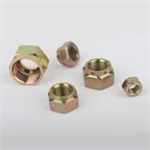 立禾/DIN980V全金属锁紧螺母/六角压点锁紧螺母 M12