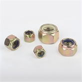 立禾/DIN982/GB889白圈尼龙螺母/锁紧螺母/10级(M14) 现货直销