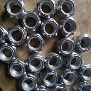 供应GB889非金属锁紧螺母M24*1.5,M24*2尼龙防松螺母