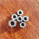 螺母六角螺母 镀锌螺母 本色螺母
