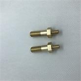 【M3-M12】外六角双头铜螺杆非标定做1000只批订