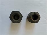 河北乐一公司专业制造精轧平螺母,精轧锥螺母,精轧螺纹钢锚具