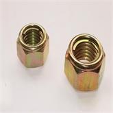 【主打】现货供应GB6184六角铁片锁紧螺母,中碳钢8.8级