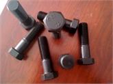 现货供应10.9S钢结构大六角螺栓 扭剪型螺栓 加工定制加大加长