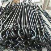 乐一公司生产 9字地脚螺丝 路灯杆 钢结构建筑配件地脚螺栓