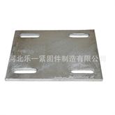 厂家供应Q235预埋钢板,大型剪板,焊接加工链接件,地脚螺栓配套钢板