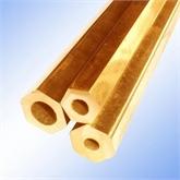 现货供应 H65黄铜管 六角空心黄铜管