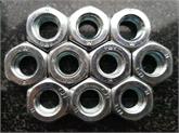 瑞鑫专业生产六角螺母DIN934  黄锌