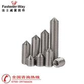 尖端机米螺丝/尖端止付螺丝/DIN914机米螺丝