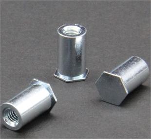 壓鉚螺母柱:BSO-M4-10