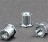 通孔压铆螺母柱SO-M4-6