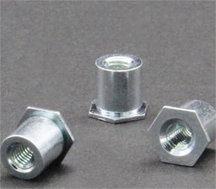 通孔壓鉚螺母柱SO-M4-6
