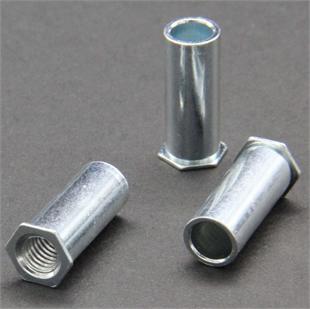通孔壓鉚螺母柱SO-M4-16