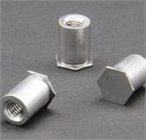不銹鋼壓鉚螺母柱BSOS-M4-8
