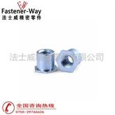 碳钢镀锌通孔压铆螺母柱SO-M5-25