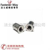 不锈铁通孔压铆螺母柱SO4-M6-4 大量现货