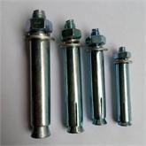 厂家直销国标膨胀螺栓蓝白镀锌M8M10规格齐全