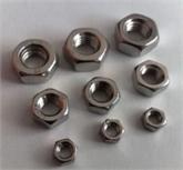 不锈钢六角螺母 螺栓