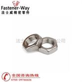 DIN439不锈钢薄螺母-六角薄螺母 M12 大量现货