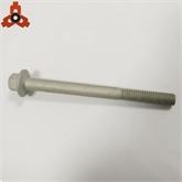 已開發高難緊固件 非標六角法蘭面長螺栓 達克羅