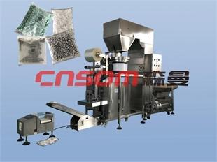 青岛森曼智能全自动螺丝包装机高精度五金螺丝称重包装机