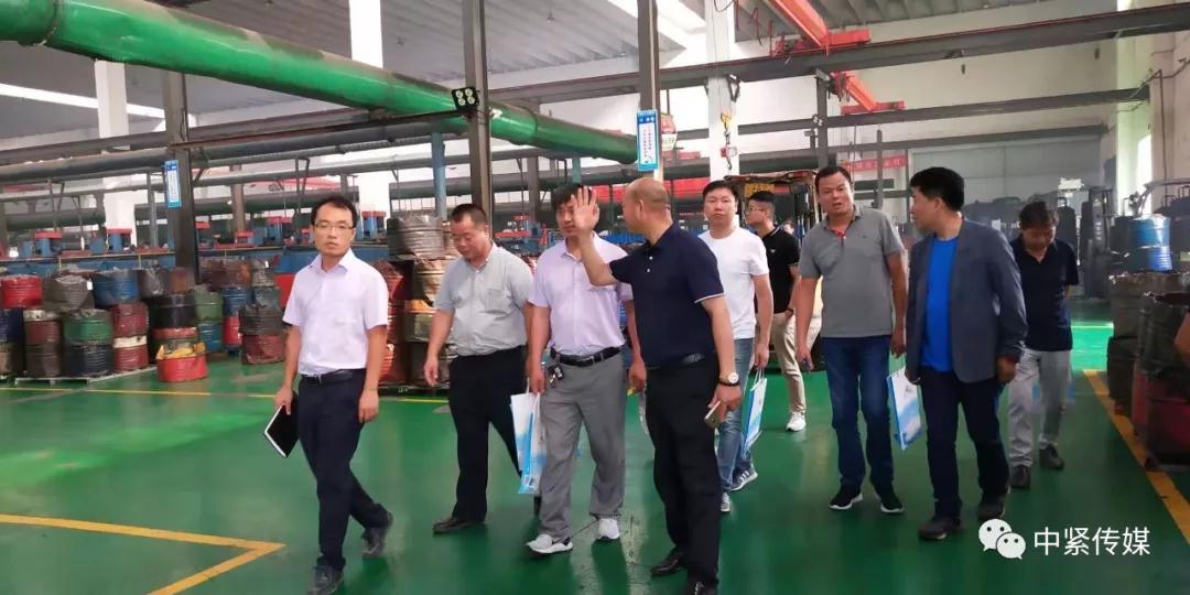 浙江省紧固件产业技术联盟再赴连云港考察