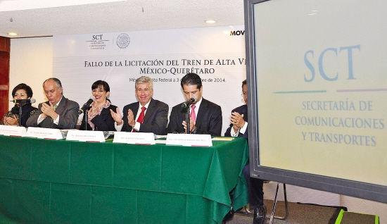 墨西哥撤销中国铁建高铁中标权 重启投标程序