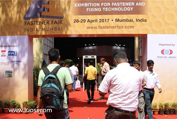 2017年印度紧固件专业展隆重开幕
