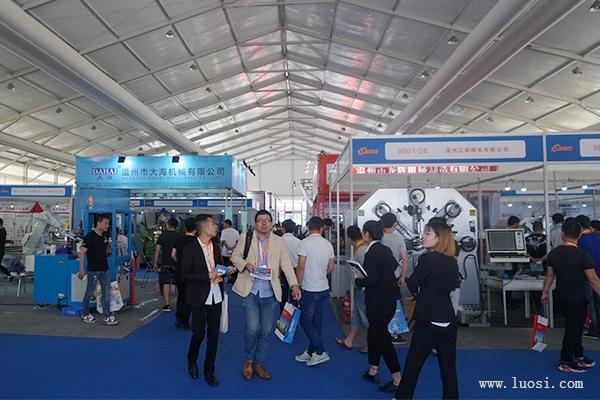 市场需求巨大,设备企业纷纷亮相温州机械装备展!