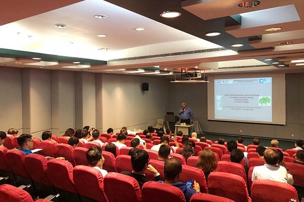 德國緊固件展經驗分享會暨德國緊固件最新制造技術分享會在香港順利召開
