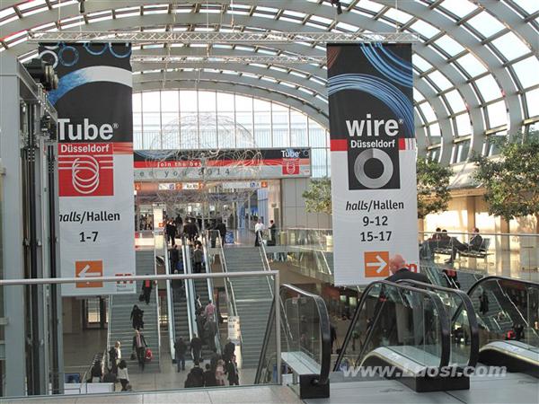 华网与中国紧企齐亮相2012德国杜塞尔多夫线材展