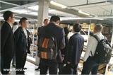 华螺网考察团参观Bossard的仓储系统