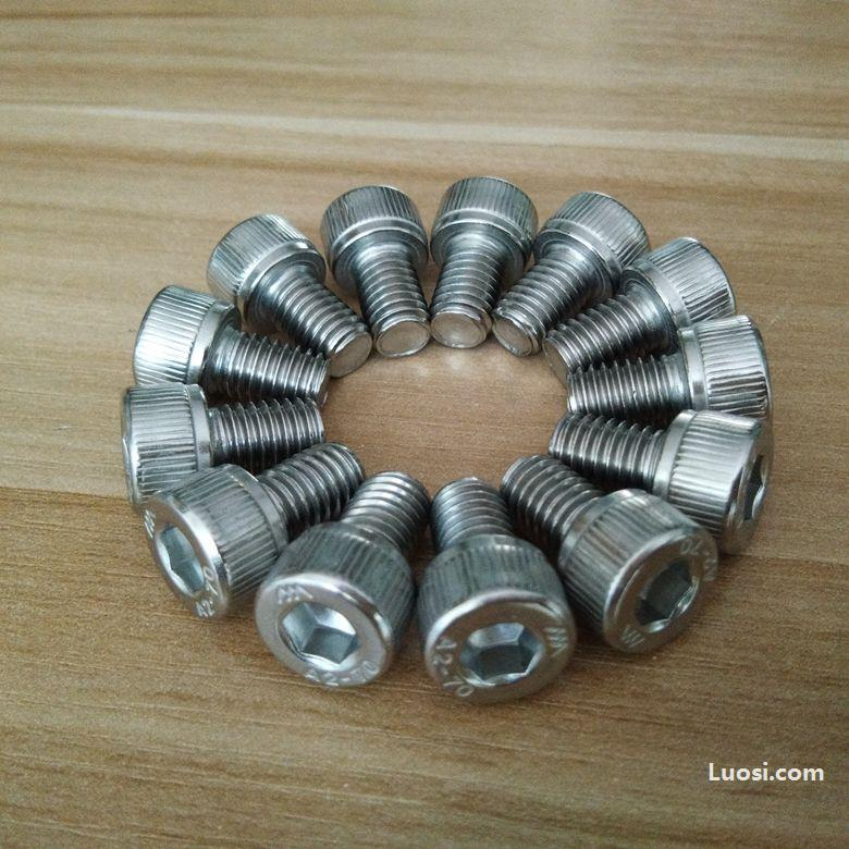 DIN912公制合金钢12.9级全牙内六角螺丝(杯头)