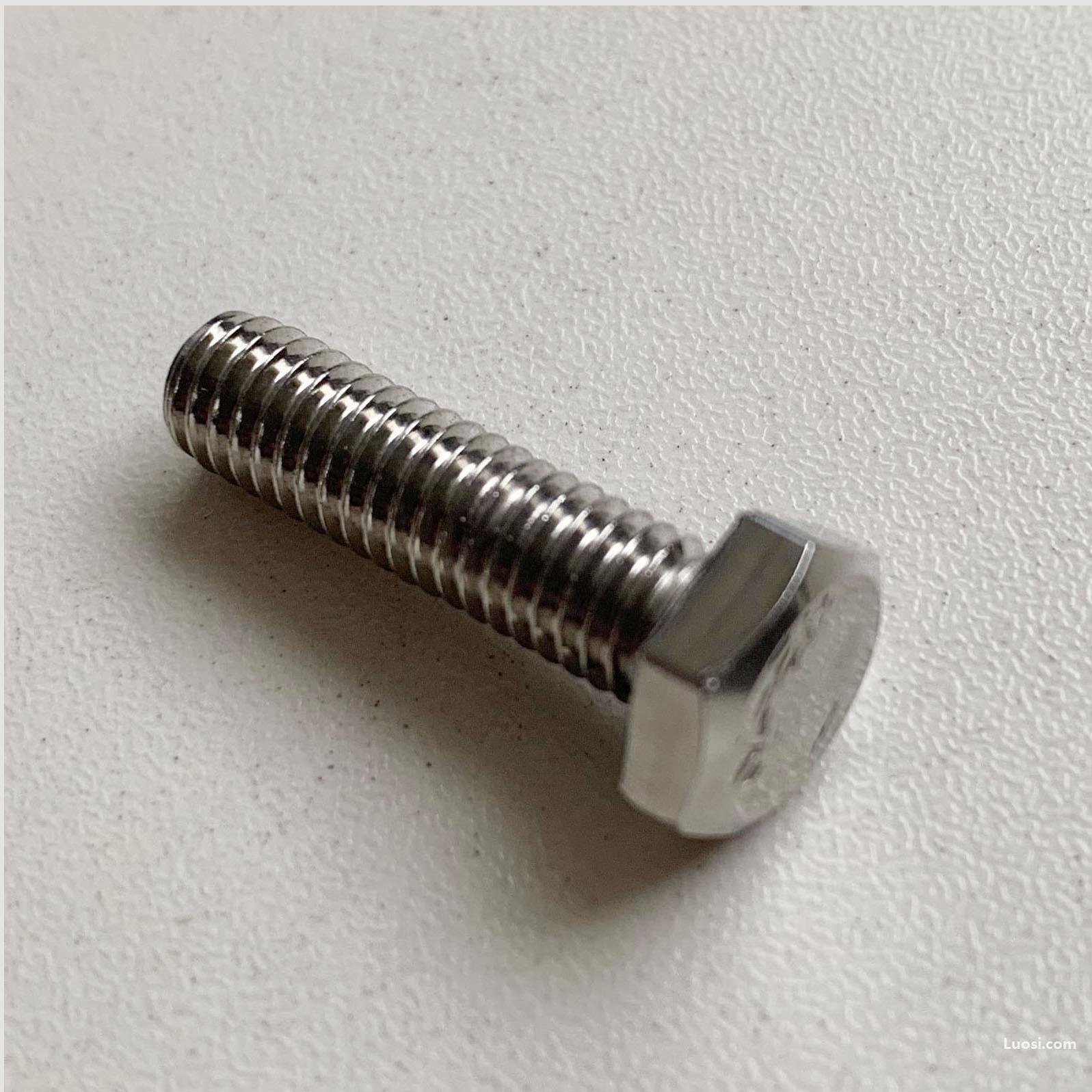 GB 30 六角头螺栓 M4