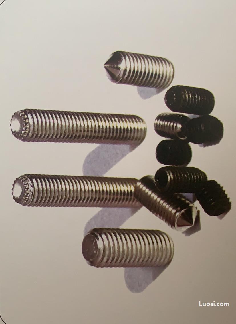 紧定螺钉DIN913/914/916/915