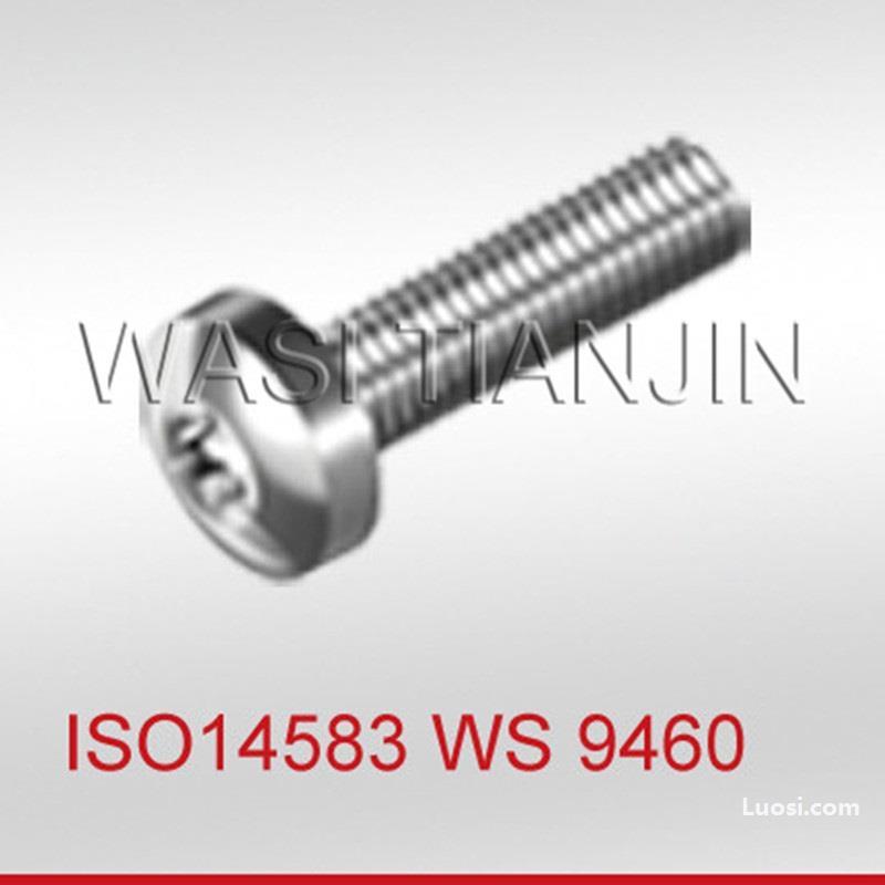 梅花槽圆头螺钉ISO14583